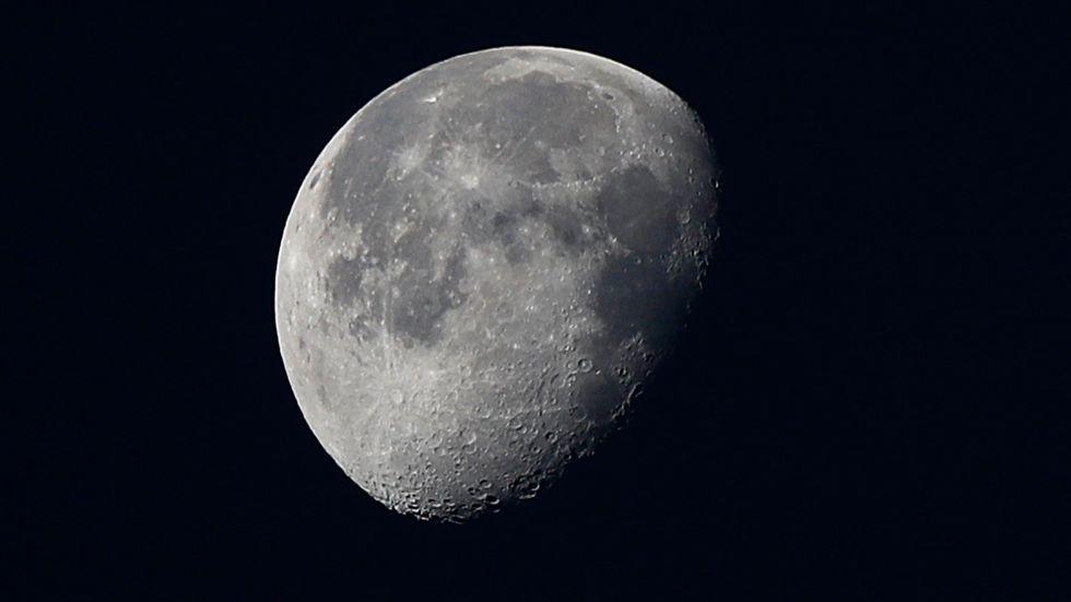 Manualen har varit på månen och vänt. Nu säljs den på auktion. Arkivbild.