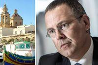 Torsten Fensby hävdar att finansminister Anders Borg försökte stoppa avtal med skatteparadis om informationsutbyte.