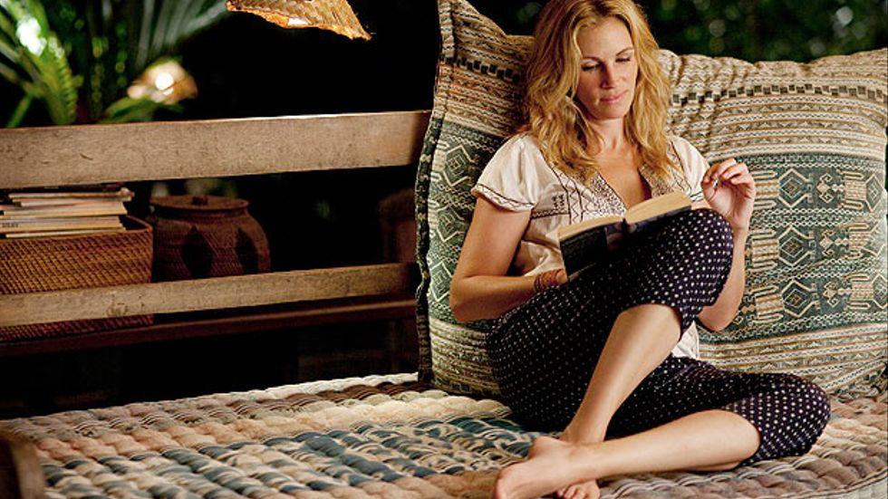 Julia Roberts söker sig själv i Lyckan, kärleken och meningen med livet.