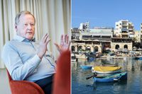 Svenskt Näringslivs ordförande Leif Östling har placerat pengar i skatteparadiset Malta.