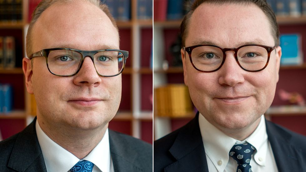 Peter Hellman och Fredrik Engström.