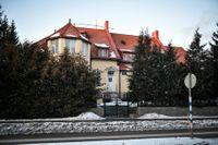 Nordkoreas ambassad på Lidingö utanför Stockholm. Arkivbild.