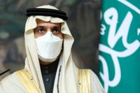 Saudiarabiens utrikesminister prins Faisal bin Farhan Al Saud. Arkivbild.