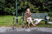94-åriga Anna Jaoui insjuknande i covid-19 när smittan letade sig in på Judiska hemmet i Stockholm. Nu är hon friskförklarad och berättar för SvD om den svåra tiden.