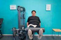 Ernesto, 46, låg rekordlänge i respirator, sjuk i covid 19. I maj täckte han SvD:s omslag liggandes i sin säng. Fyra månader senare träffas vi på gymmet. – Jag har fått en andra chans i livet, säger han.
