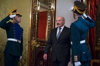 Diktatorn Lukasjenko - Kremls marionett i strategisk roll.