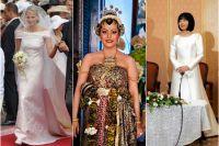 Kungligheternas 10 mest ikoniska bröllopsklänningar