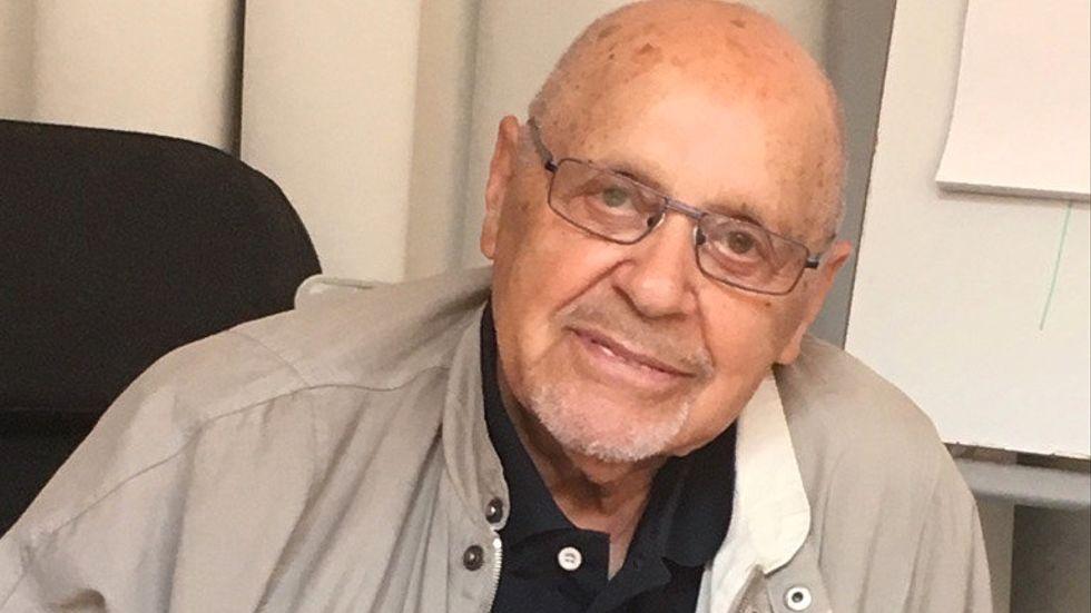 Förintelseöverlevaren Max Safir har avlidit efter en tids sjukdom. Arkivbild.