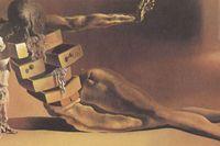"""Det antropomorfa skåpet"" av Salvador Dalí (1936)."