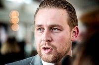 Mattias Karlsson, gruppledare för Sverigedemokraterna.