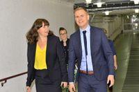Åsa Romson, Gustav Fridolin och deras Miljöpartiet får för första gången sitta i regeringsställning.