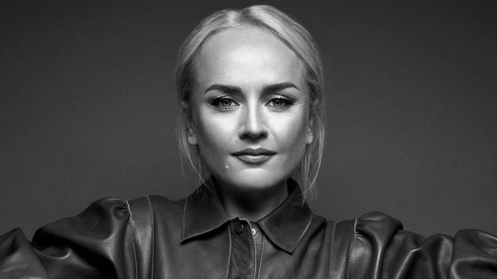 Anna Bergendahl är artist, aktuell i årets Melodifestival.