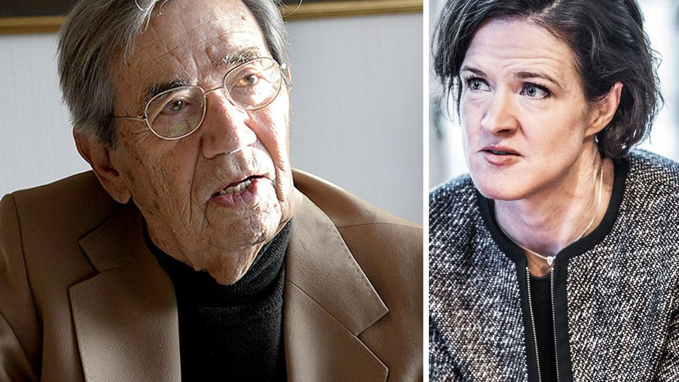 Emerich Roth och Anna Kinberg Batra.