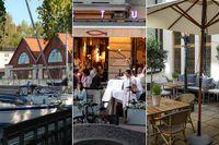 Spritmuseum, Sturehof och okända Santa Rosa – tre uteserveringar med bra mat.