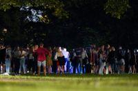 Det är nollningstider i Norge och nya studenter festar med sina faddrar. Under natten mot onsdagen stoppade polisen flera fester.