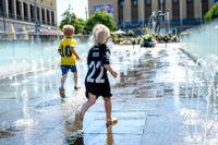 Det har varit 30 grader eller mer på många håll i Sverige under flera dagar.