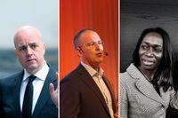Fredrik Reinfeldt, Anders Borg och Nyamko Sabuni har alla fått toppjobb efter sina politiska uppdrag. Scrolla vidare för att läsa mer om vad de gör idag.