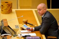 Björn Söder, riksdagens andre vice talman. Arkivbild.