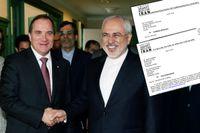 I juni tog statsminister Stefan Löfven emot Irans utrikesminister Javad Zarif i Stockholm. Besöket fick alarmklockorna att ringa hos en av USA:s mäktigaste och hemlighetsfullaste lobbyorganisationer, UANI.