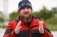 Tjetjeniens ledare Ramzan Kadyrov. Arkivbild.