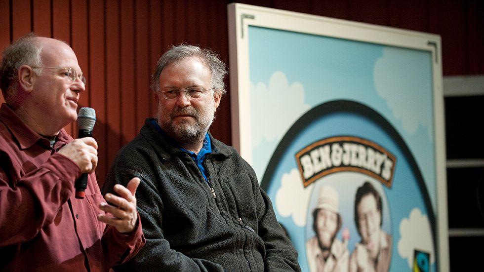 Ben & Jerry's-grundaren Jerry Greenfield är en av de som står bakom det öppna brevet.