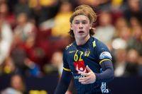 IFK Kristianstads och landslagets högersexa Valter Chrintz flyttar Berlin. Arkivbild.