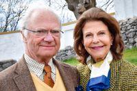 Kung Carl XVI Gustaf står i fokus i TV4:s och C Mores planerade tv-serie om det svenska kungahuset. Drottning Silvia lär också finnas med på ett hörn. Arkivbild.