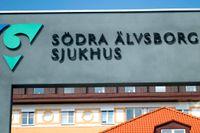 En man som nekats hjälp på Södra Älvsborgs sjukhus misstänks ha begått en brutal våldtäkt på en 16-årig flicka strax efter att han avvisats från sjukhuset. Arkivbild.