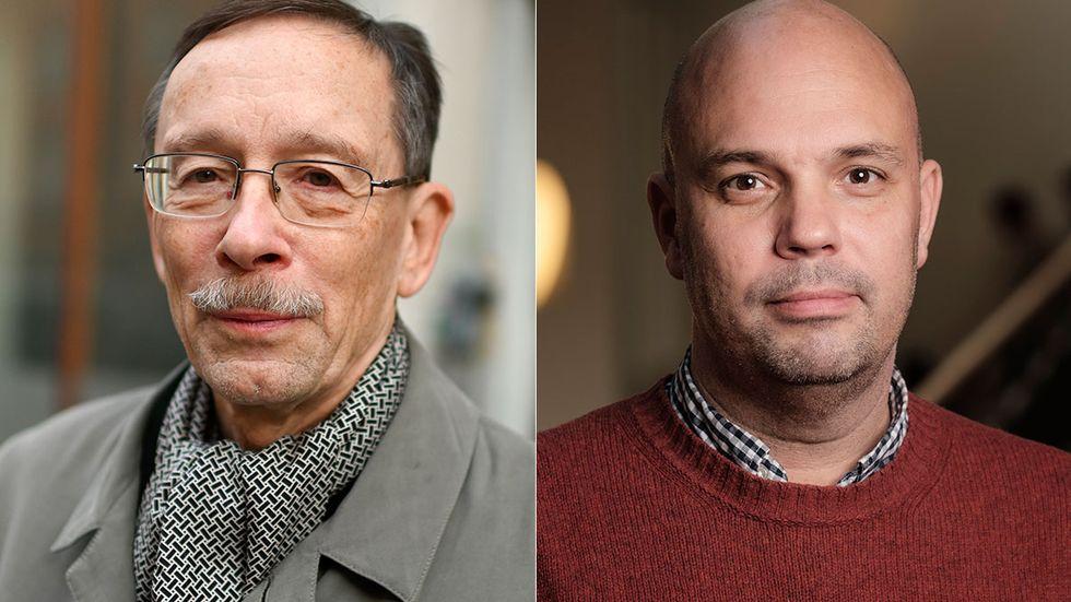Lars Calmfors och Petter Lundborg.