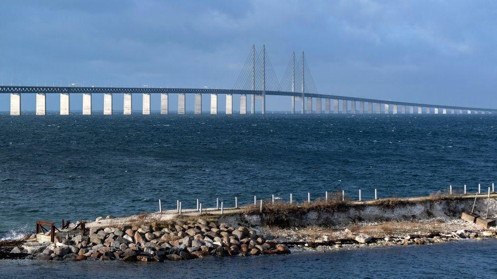 Öresundsbron är en snedkabelbro, men av en annan typ än den som kollapsade i Italien.