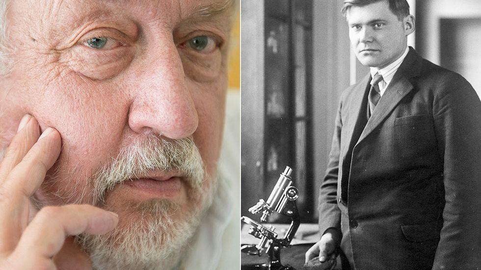 Kriminologerna Leif GW Persson och Harry Söderman (1930).