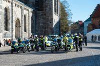 Den svenska polisbevakningen i samband med påvebesöket kostade drygt 15 miljoner kronor, rapporterar SVT Nyheter Skåne. Arkivbild.