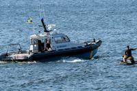 Kustbevakningen har sett en ökning både av oerfarna båtförare och av vattenskotrar i år. Arkivbild.