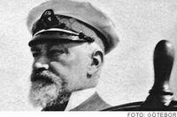 K A Wallenberg till rors på Fujiyama 4 juli 1915.