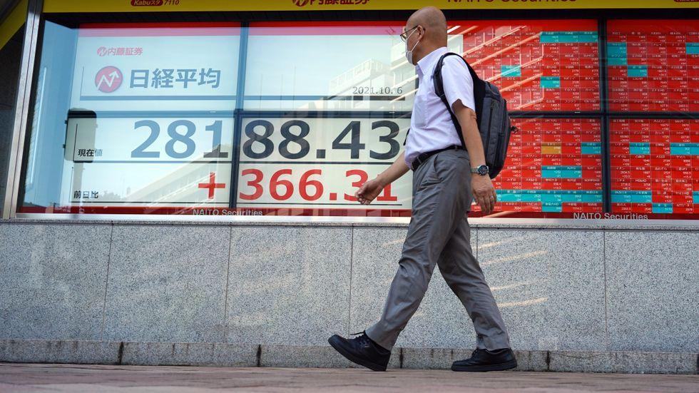 De ledande börserna i Asien tog steg framåt under torsdagen. Arkivbild.