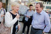 """Margot Wallström gör comeback i svensk politik genom att ingå som en valarbetare för Socialdemokraterna inför valet i september. Hennes relation med partiledare Stefan Löfven beskrivs som """"god""""."""