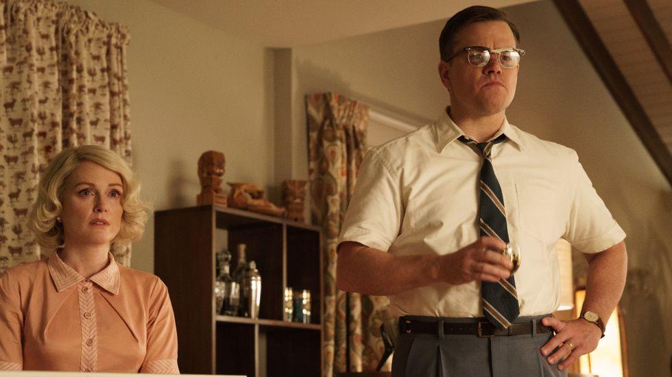 Julianne Moore och Matt Damon.