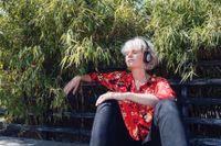 Svenska Spotify-lyssnare skapar spellistor för meditation i högre utsträckning än andra. Arkivbild.