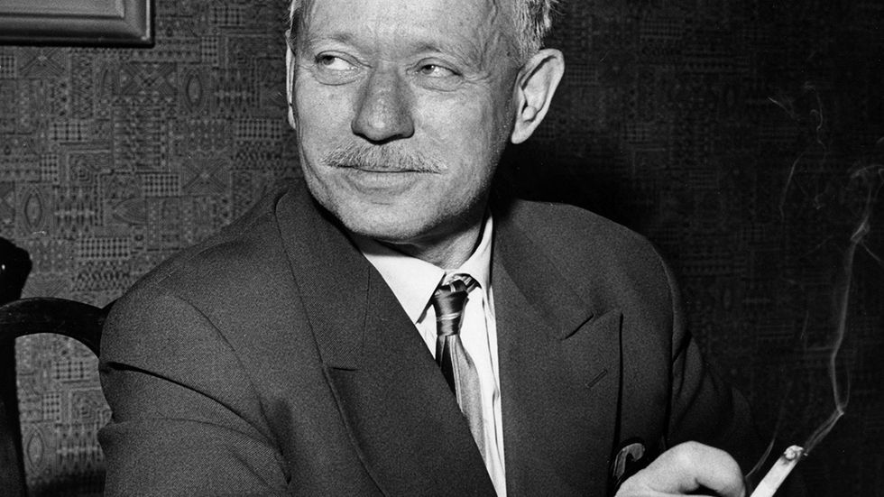 Michail Sjolochov (1905–1984) fick Nobelpriset i litteratur 1965.