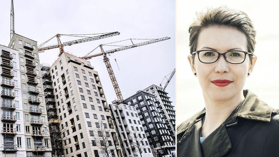 Tatjana Joksimovic, förbundsordförande i Sveriges Arkitekter.