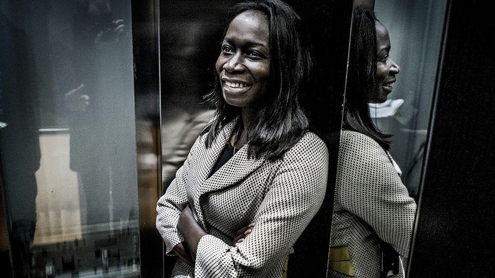 Nyamko Sabuni, hållbarhetschef på ÅF.
