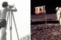 SvD-läsaren Anders Boberg befann sig i Båstad det klassiska dygnet för 50 år sedan då Neil Armstrong klev ner på månen.