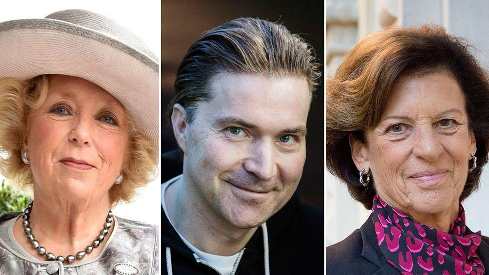 Kirsten Rausing, Martin Lorentzon och Antonia Ax:son Johnson finns med bland de 15 rikaste svenskarna.