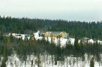 Jaktanläggningen i Henvålen i Härjedalen fotograferad 2009. Sedan dess har SCA rustat anläggningen för över 100 miljoner kronor.