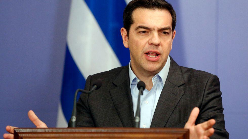 Greklands premiärminister Alexis Tsipras räknar med en uppgörelse med långivarna om nya utbetalningar av nödlån inom tre veckor. Arkivbild