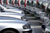 Färre nyregistrerade personbilar i augusti. Arkivbild.