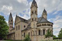 Sankt Kastorbasilikan i Koblenz – medeltidens bästa konferenslokal.