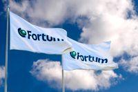 Resultatet sjunker för finländska Fortum. Arkivbild.