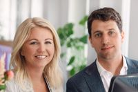 Elina Berglund Scherwitzl och Raoul Scherwitzl, grundare av Natural Cycles.