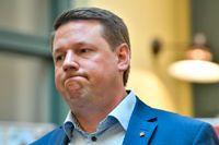Kommunals ordförande Tobias Baudin. Arkivbild.